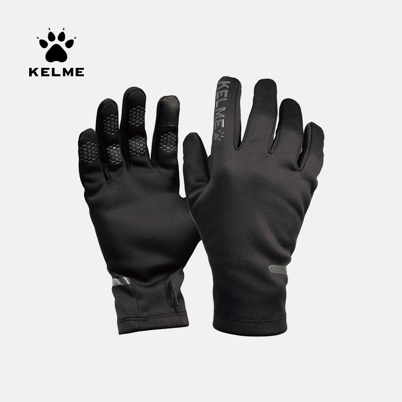 KELME Winter Thick Outdoor Sports Soccer Gloves Cycling Cold Weather Windproof  Touch Screen Gloves 9886404
