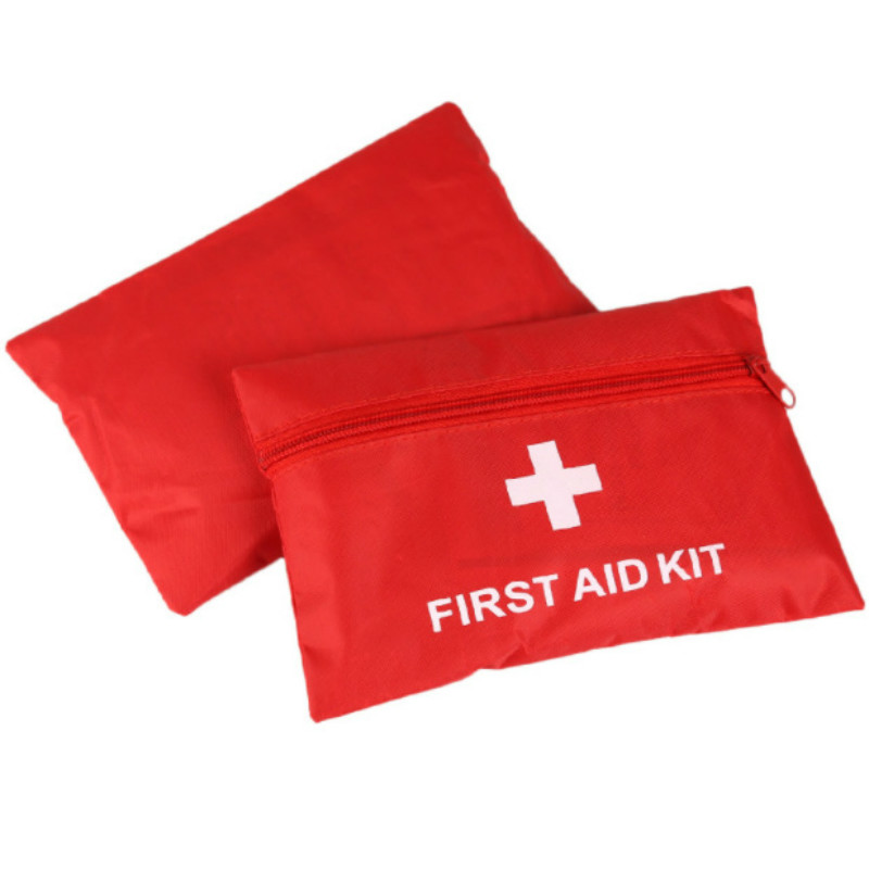 Portable First Aid Kit Bag Travel Emergency Rescue Medical Packet Treatment Outdoor Camping First Aid Kits