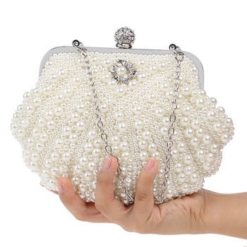 Luxury Pearl Design Women Evening Bag