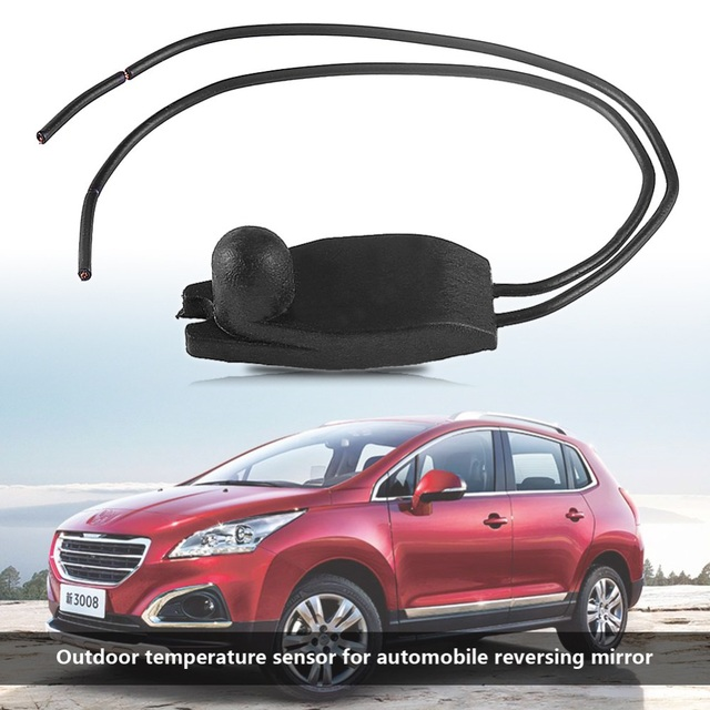 Car sensor Outside Outdoor Ambient Transit Air Temperature Sensor For PEUGEOT 206 207 208 306 307 308 405 407 605 car-styling