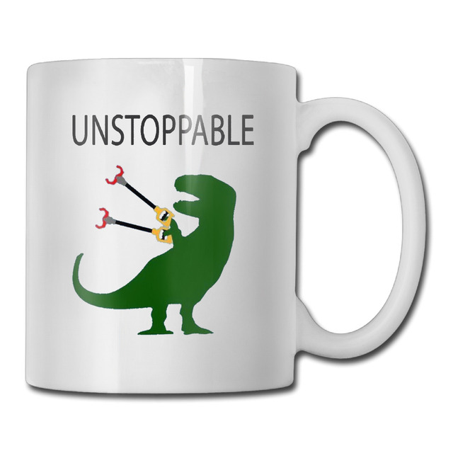 T Rex Ceramic Coffee Mug Design Your Own Grandpa Tazas Tumbler Caneca Tea Cups