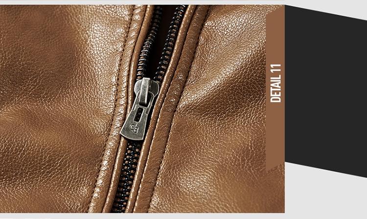 HTB1KlX6pOQnBKNjSZFmq6AApVXaX DAVYDAISY 2019 High Quality PU Leather Jackets Men Autumn Solid Stand Collar Fashion Men Jacket Jaqueta Masculina 5XL DCT-245