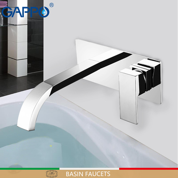 GAPPO basin faucet mixer Wall mounted faucet taps griferia basin faucets mixer bathroom faucet Tap waterfall brass taps