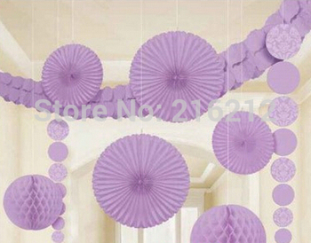 Paper Fan Tissue Paper Fan Crafts Party Wedding Home Decorations 20cm