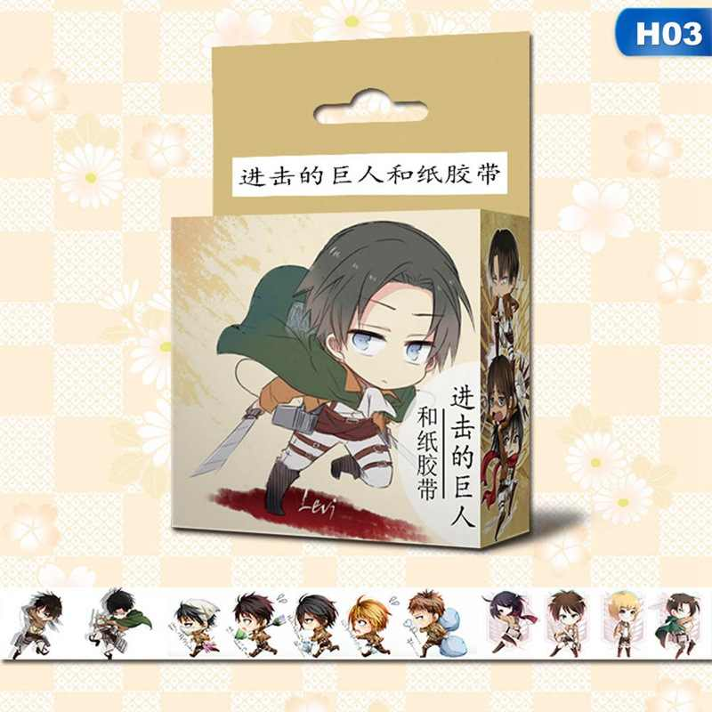 1.5 cm * 5 m Japanse Anime Cartoon Plakband DIY Scrapbooking Sticker Label Afplakband School Office Supply