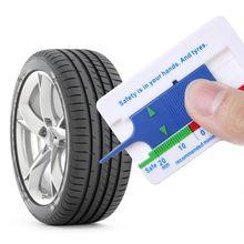 Измеритель глубины протектора шин для автомобиля, мотоцикла, прицепа, колеса, инструмент для измерения глубины суппорта