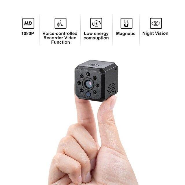 Mini caméra IDV015 HD 1080 P infrarouge Vision nocturne détection de mouvement Mini caméscope maison sécurité IR DVR DV Micro Cam PK SQ12 SQ11
