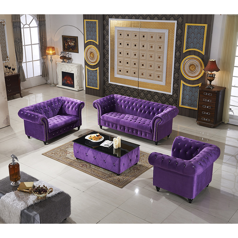 Pleasing Us 1354 0 Aliexpress Com Buy Modern Living Room Furniture Black Purple Fabric Chesterfield Sofa With Coffee Table From Reliable Living Room Sets Creativecarmelina Interior Chair Design Creativecarmelinacom