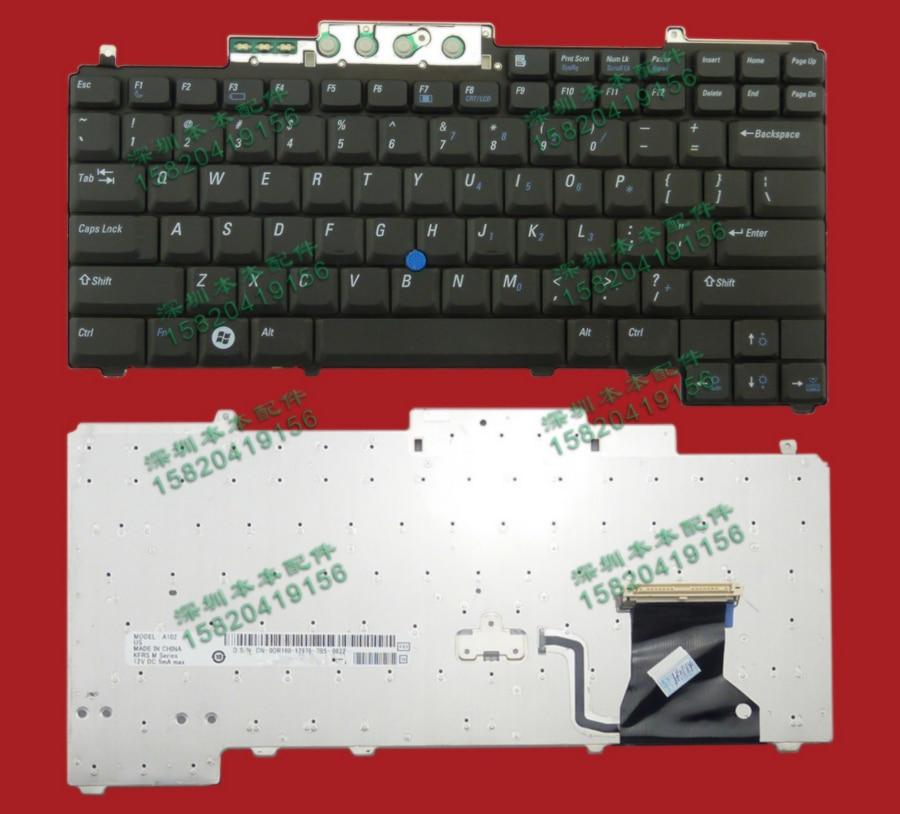Gastvrij Nieuwe Voor Dell M2300 M4300 M65 D820 D830 Laptop Toetsenbord Us Versie Gratis Verzending Pure Witheid