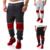 2016 venta caliente casual pantalones harem hombres joggers pantalones chandal homme hombre pantalones de chándal de ALGODÓN pantalones hombres pantacourt reparto estupendo