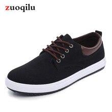 Новинка; парусиновая обувь для мужчин; дышащая удобная повседневная обувь; мужские модные брендовые лоферы на плоской подошве со шнуровкой; парусиновая обувь;