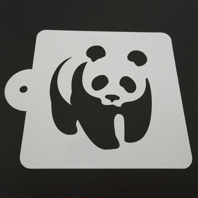 luc 5 zoll nette panda kuchen schablone template mold kunststoff