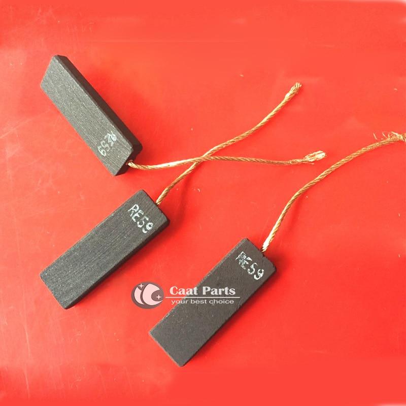 2PCS / LOT, 5 * 13.5 * 39.5mm Motore Spazzole in grafite di carbone - Accessori per elettroutensili - Fotografia 2