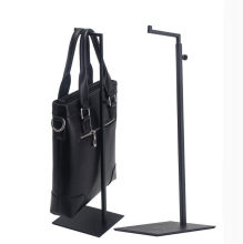 a05252b76a29 Hot promotion Black handbag display stand 7-type Backpack display rack  adjustable metal bags wig Purse silk scarf holder rack