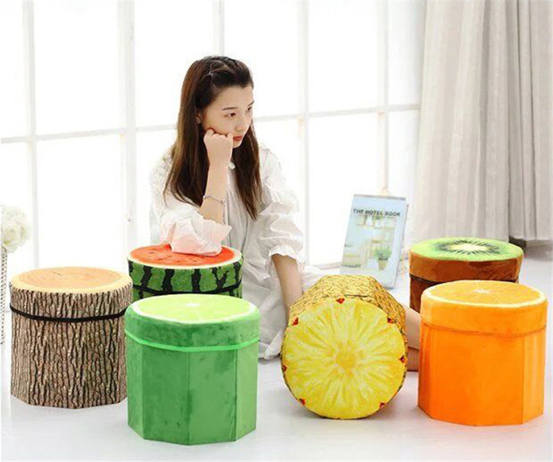 Free Shipping 1Pcs High capacity Folding Box Funny Fruit storage Box Stool Sundries Organizer Office Desk & Popular High Office Stool-Buy Cheap High Office Stool lots from ... islam-shia.org