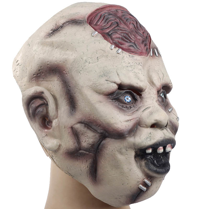 devils monster latex scary mask halloween buck teeth ghost mascara terror cosplay prank masquerade fancy costume party props in party masks from home