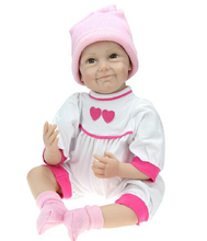 High Quality 22 inch Lifelike Twin Baby Doll Set Reborn Baby Dolls