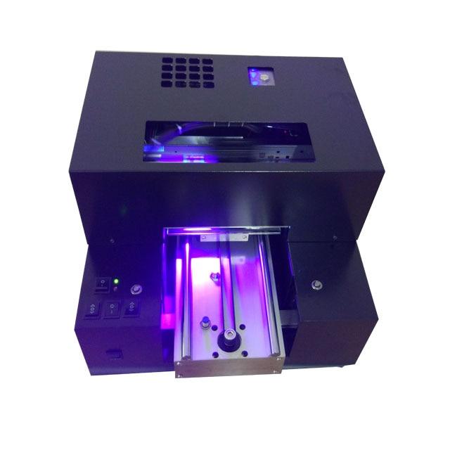 Automatique Alumimum alliage plaque UV à plat imprimante & TPU téléphone cas/Carte De Visite/stylo À Bille/Balle de Golf etc machine d'impression