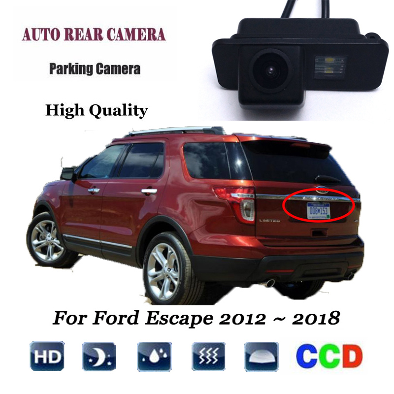 For Ford Explorer U502 2010 ~ 2015 Rear View Backup Parking Camera Rearview Reverse Camera / SONY CCD HD Integrated