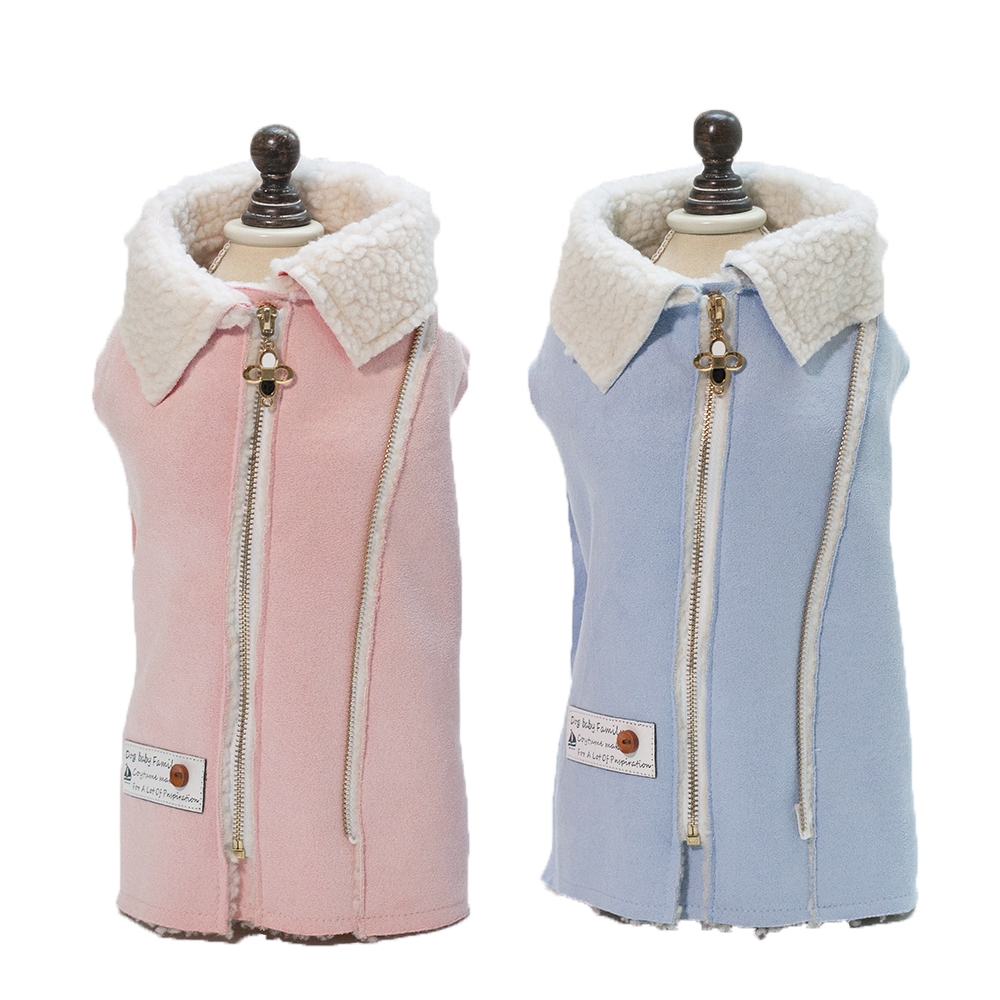 Simple stylish cute pet dog clothes two legs dog coats new jackets for small dogs clothing-in