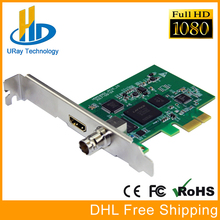 Full HD 1080 p HDMI SDI Captura PCI-E PCIe Placa de Captura Jogo HD Video Audio Grabber HDMI/SDI Para PCI PCIe Para Windows, linux