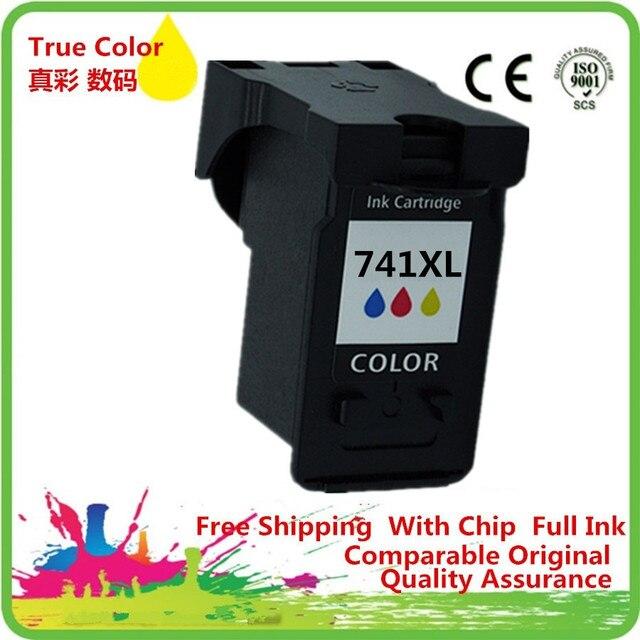 Чернильные картриджи восстановленные для Canon CL741 CL-741 CL 741 741C 741XL CL741XL CL-741XL MX517 MX437 MX377 MG4170 MG3170 MG2170