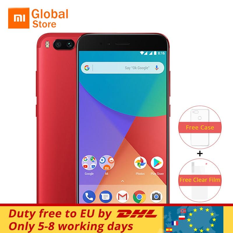 """Глобальная версия Сяо Mi A1 Mi A1 мобильный телефон 4 ГБ 32 ГБ Snapdragon 625 Octa Core Dual 12.0MP android ОДИН 5.5 """"1080 P отпечатков пальцев"""