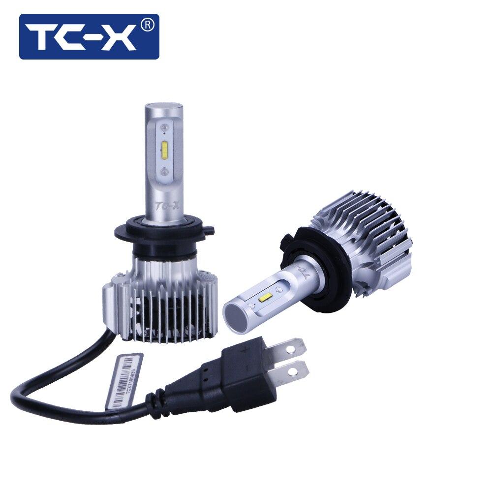 TC-X LED High Power H7 Auto Scheinwerfer 60 W/Pair 6000Lm H4 LED H11 9006/HB4 9005/HB3 H1 880/H27 Alle in Einem Auto Nebelscheinwerfer licht