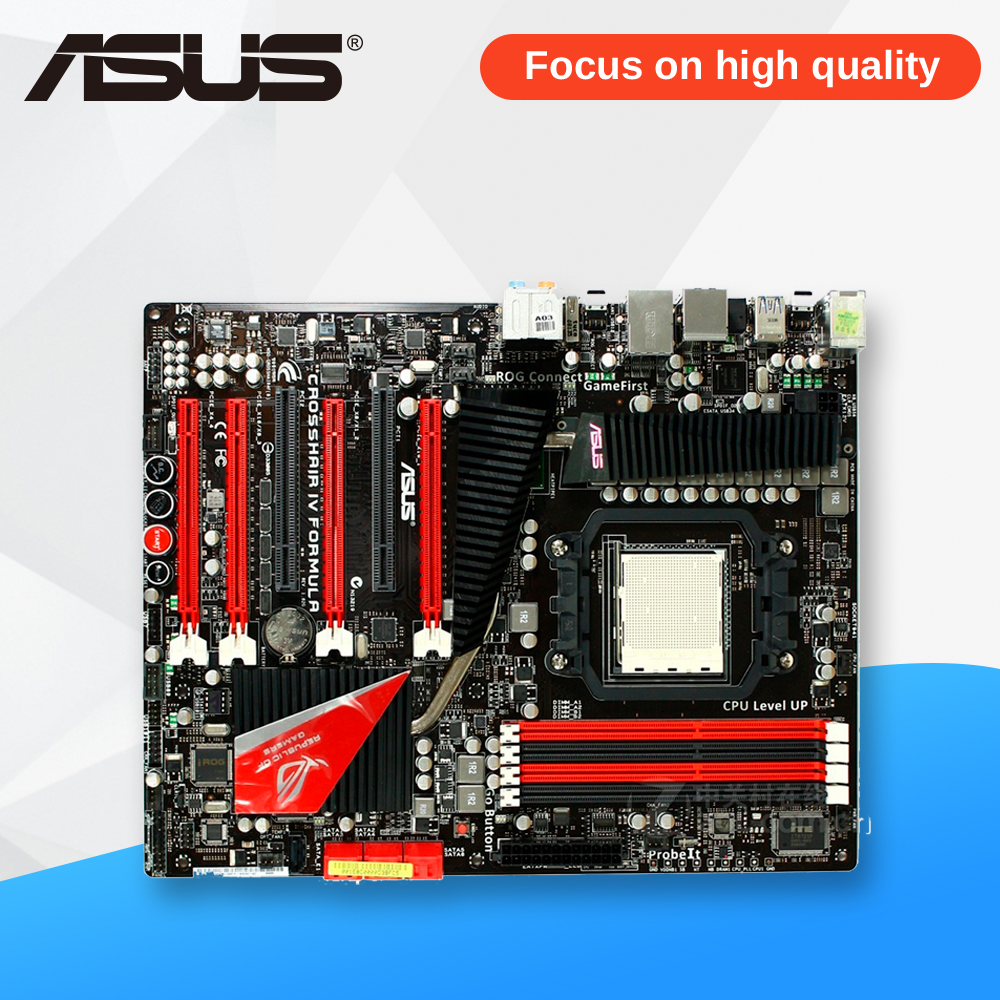 все цены на Asus Crosshair IV formula Desktop Motherboard 890FX Socket AM3 DDR3 SATA3 USB3.0 ATX