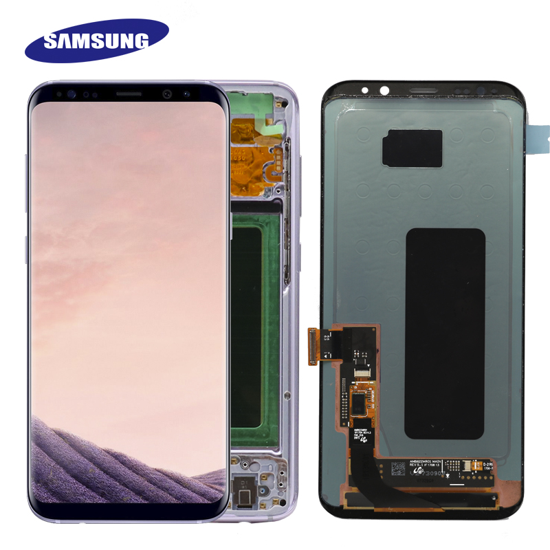 Original S8plus Display Screen for SAMSUNG Galaxy S8 PLUS Screen Replacement LCD Touch Digitizer Assembly G955