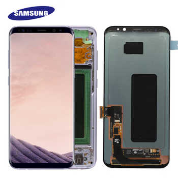 Original S8plus Display Screen for SAMSUNG Galaxy S8 PLUS Screen Replacement LCD Touch Digitizer Assembly G955 G955F with FRAME - DISCOUNT ITEM  27 OFF Cellphones & Telecommunications