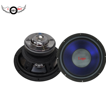 "I Key Buy Audio 12"" 1800W Car Audio Power Subs Woofers Truck Subwoofers Dual Voice Coil with Logo for KTV Home Party 1PC"