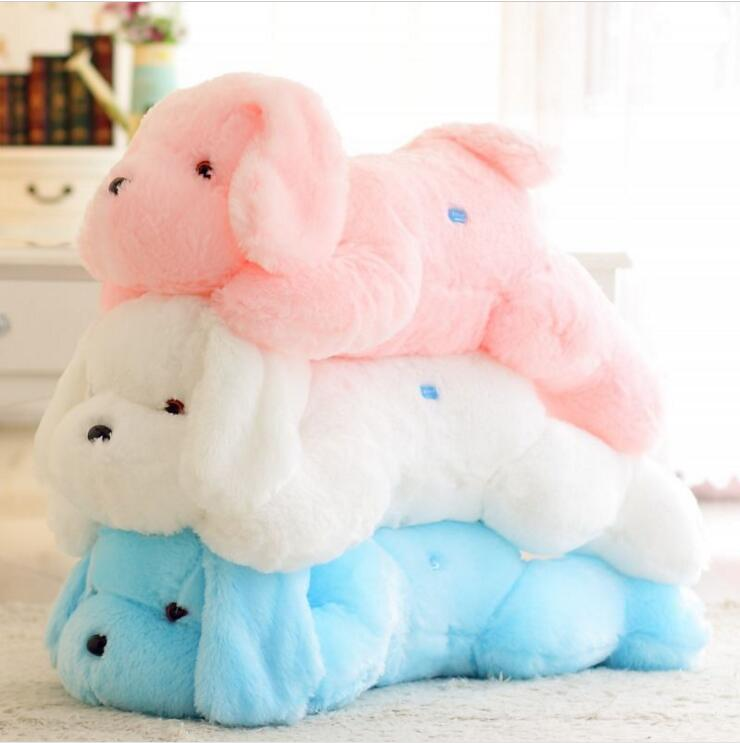 50CM Length Creative Night Light LED Lovely paw Dog Stuffed Pillow Teddy Puppy and Plush Toys ...