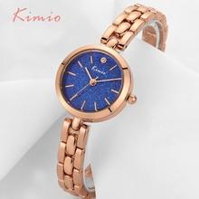Kimio de mode coloré étoiles brillent cadran femmes bracelet montre de femmes montre-bracelet en or rose quartz femmes montres top marque horloge