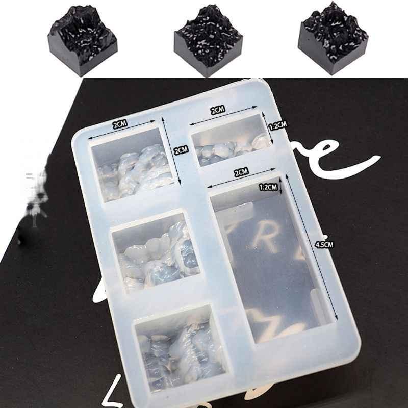 雪山型シリコーン樹脂モールド DIY マイクロ風景 USB ドライブ樹脂金型