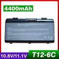 4400mAh laptop battery for Asus T12C T12Er T12Fg T12Jg T12Ug X51H X51L X51R X51RL X58 X58C X58L X58Le A31-T12 A32-T12 A32-X51