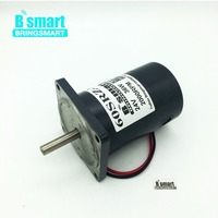 Bringsmart 24V 12V DC Motor With 2000 4000RPM Permanent Magnet Motor 36W Support Reversible Speed Control For Electric Drill DIY