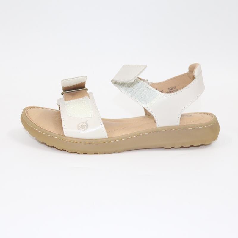 De Femmes Fond Portant brown Épais bleu Beige Sandalslarge Confortable noir Sandales En Cuir Taille xY44qBH0