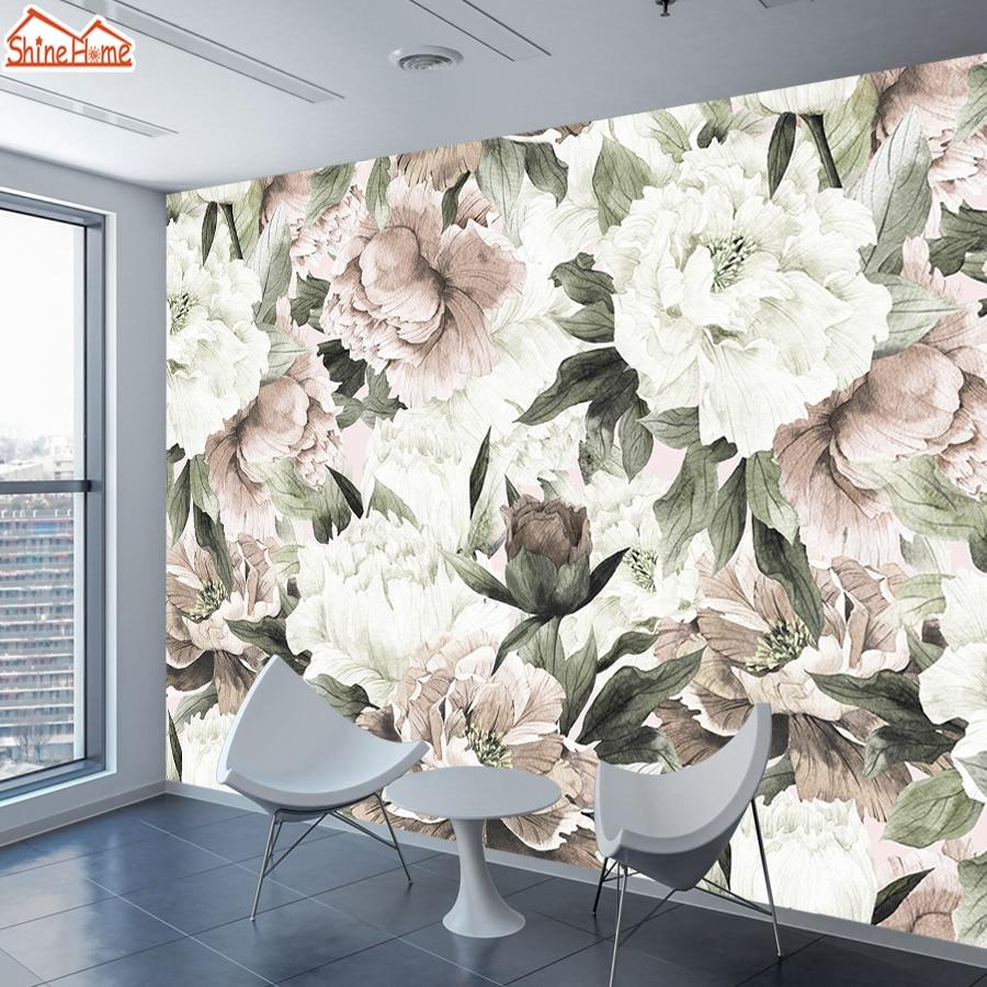 Papel de parede Vintage Tapeten für Wohnzimmer 3 d Wand Papers Home ...
