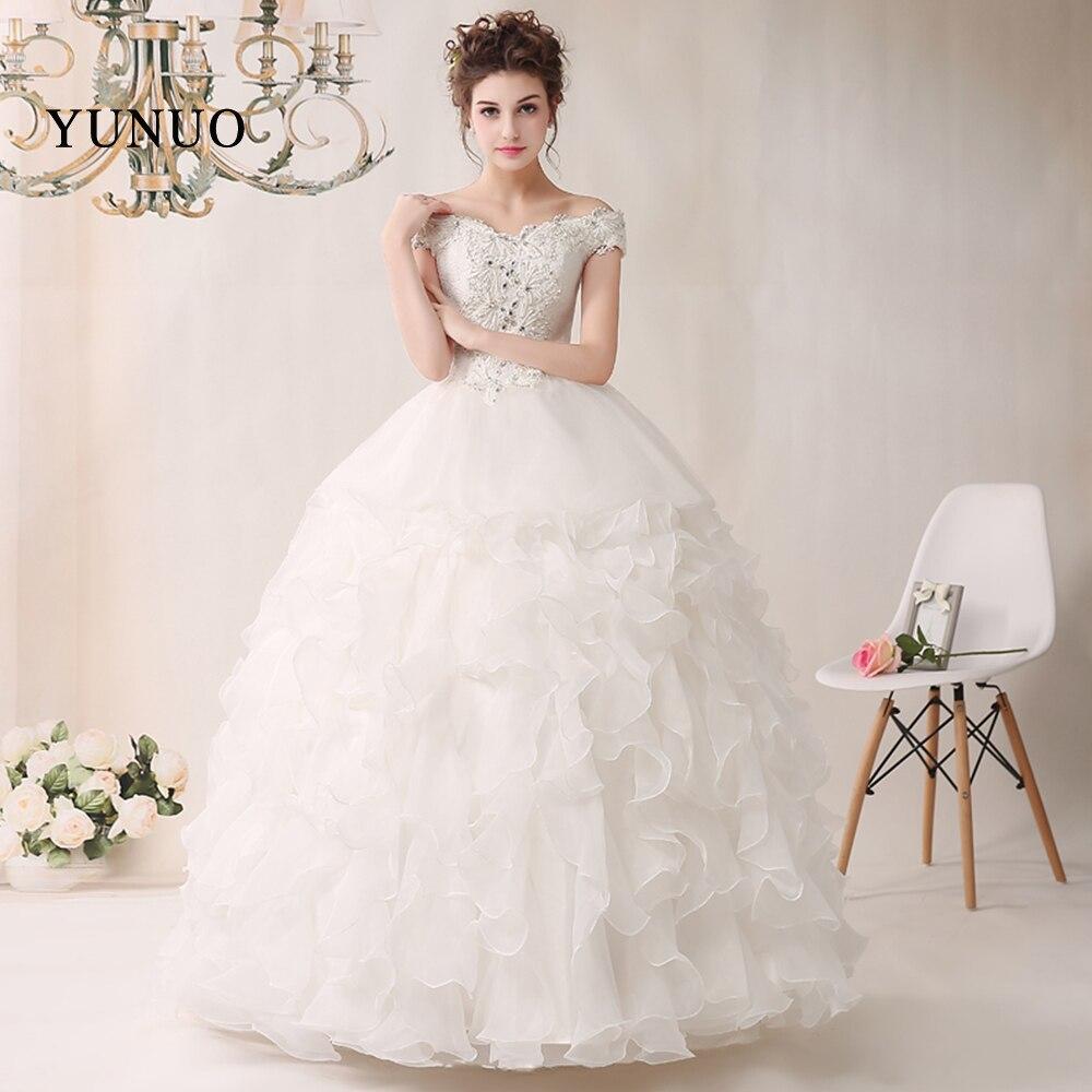 Exquisite Wedding Gowns: Wedding Dress Luxury White Princess Bride Wedding Party