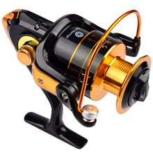 New 12Ball Bearings Type Fishing Reels Gear Ratio Left Right Hand Interchangeable Spinning Reel REB-1000-7000
