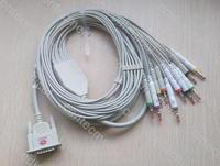 12 lead ECG Cable For CONTEC ECG EKG HOLTERfor ECG80A100G/300G/600G/1200G/1200F medical mahine equipment