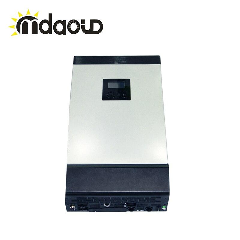 OFF GRID solar inverter 4kva 60A DC48V 220V/pure sine wave with built-in mppt controller