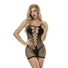c8e52eb7ab5 Women Sexy Lingerie Jacquard Fishnet Body suit Lady Sexy Club Party Dance  Tights Body Erotic Dress Leotard Vestidos HDL6