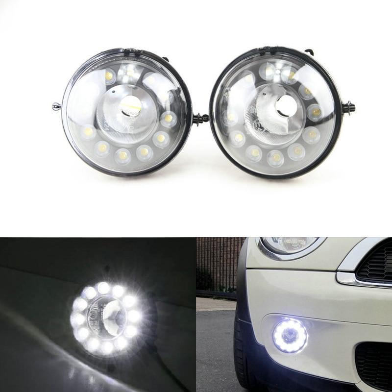 New arrival Fog Position DRL LED Daytime running Lights Turn signal light for Mini COOPER R55 R56 R57 R58 R59 R60
