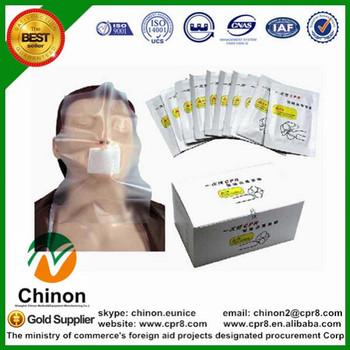Dezynfekcja Chinon jednorazowa pierwsza pomoc CPR tarcza maska Student medycyna nauka nauczanie źródła zaopatrzenie sprzęt BIX-JM tanie i dobre opinie NoEnName_Null CN (pochodzenie) manekin Nauki medyczne Transparent ISO9001 ISO4001 School Hospital CPR mask life size