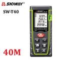 SNDWAY 40M Digital laser rangefinder 131ft handheld distance meter trena Laser range finder Area-volume-Angle tape measure tools