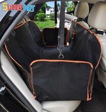Dog Car Seat Cover Waterproof Nonslip Hammock Style Pet Back Seat Cushion for Truck SUV Van Auto  SUPERART