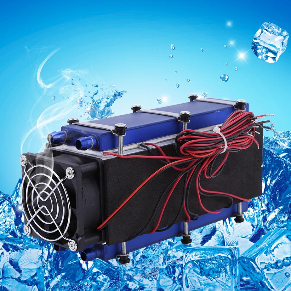 Thermoelectric Peltier Coolers 12V 576W 8 Chip TEC1 12706 DIY Thermoelectric Cooler Refrigeration Air Cooling Device