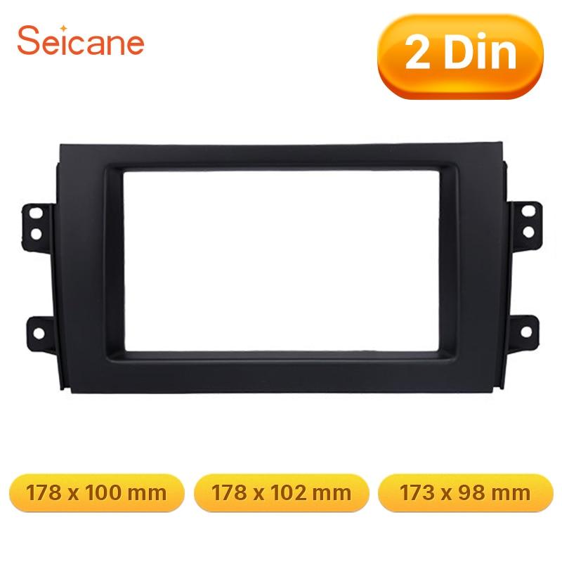 Seicane Double Din 173 98 178 100 178 102mm Black OEM sthyle font b Car b